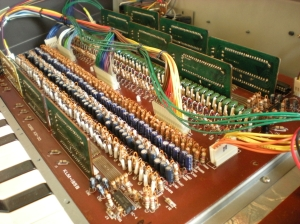 Lambda divider-keyer board photo
