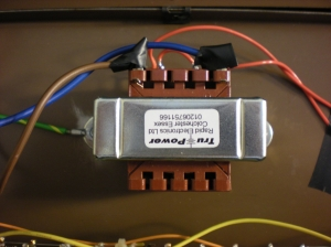 Replacement mains transformer for Moog Rogue