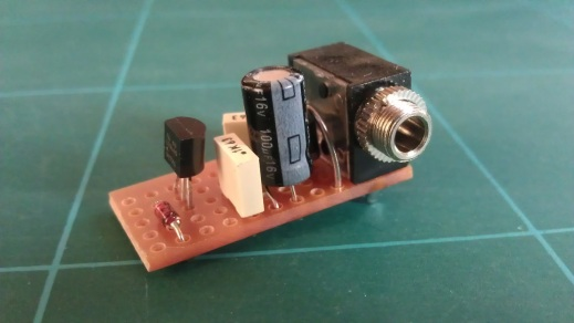DR-55 DC input build