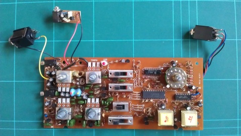 DR-55 DC input wired and complete