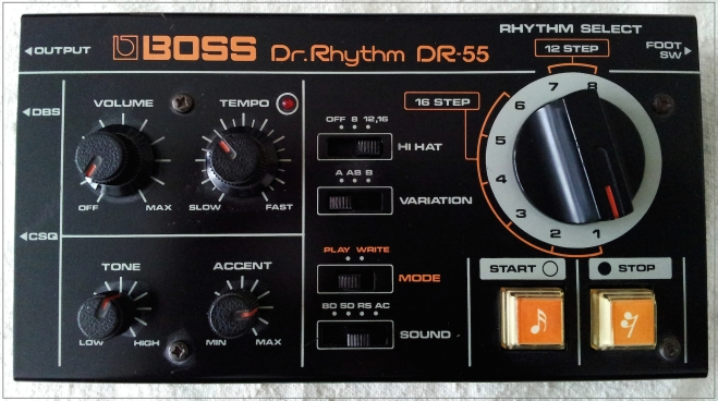 Boss DR-55 photo