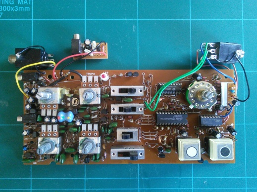 clock modded DR-55 overview