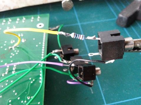 Werkstatt VCA input soldering