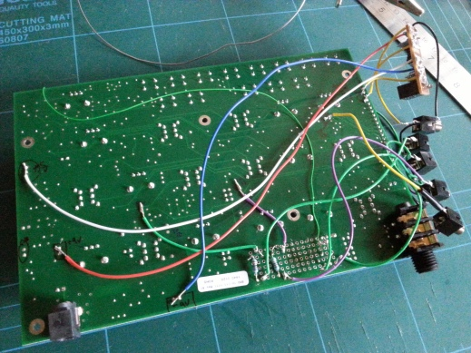 Werkstatt VCO and VCF direct out mod wiring