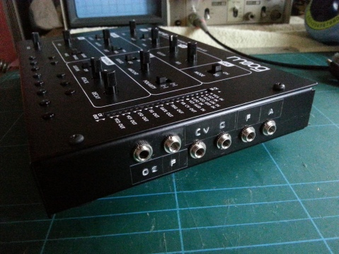 Werkstatt VCO and VCF direct output mod external appearance